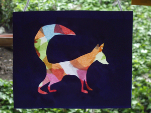 Fox_totem_hanging_stained_glass