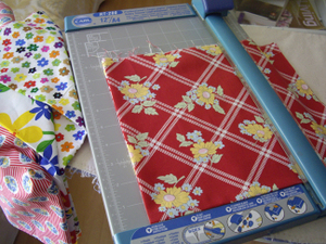 Cutting_fabric_with_a_paper_cutter
